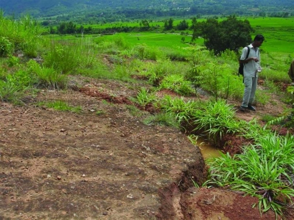 Rehabilitation of degraded communal grazing land