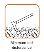 minimum soil disturbance