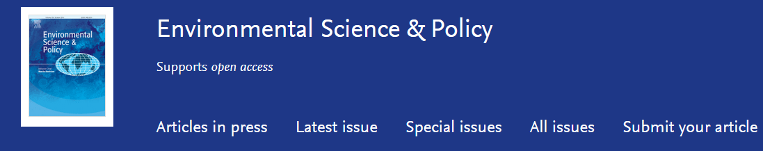 env science policy journal