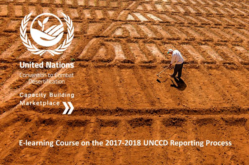 E-learning Course on the 2017-2018 UNCCD Reporting Process