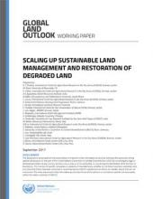 Scaling Up Sustainable Land Management and Restoration of Degraded Land