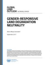 Gender-Responsive Land Degradation Neutrality