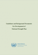 Guidelines and Background Documents for Development of National Drought Plan